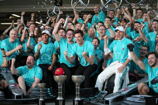 コンストラクターズ6連覇のメルセデスF1、2020年シーズンのエントリー料は史上最高額の約6億円に