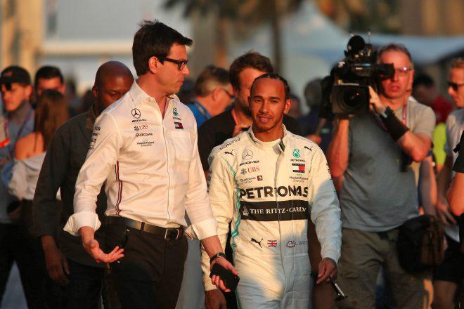「2021年F1のシート争いはすでに始まっている」とハミルトン。メルセデス代表に多数の売り込みと明かす