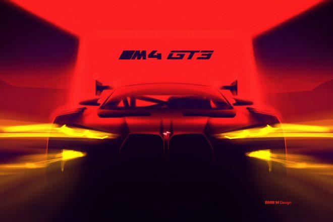 BMW『M4』ベースの新型GT3カー開発中。2022年の登場を正式発表