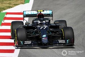 F1スペインFP1:リベンジに燃えるメルセデスがワンツー発進。レッドブル・ホンダのフェルスタッペンが続く