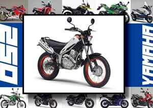 ヤマハ「トリッカー」いま日本で買える最新250ccモデルはコレだ!【最新250cc大図鑑 Vol.012】-2020年版-