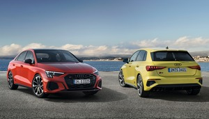 最高出力310psのプレミアムコンパクト、アウディ S3 セダン/S3 スポーツバックが欧州で販売開始