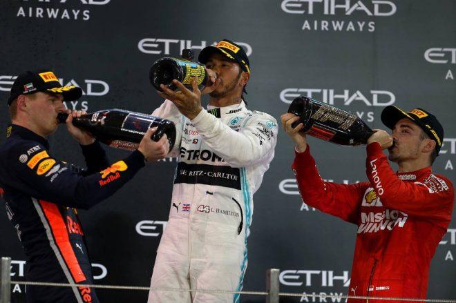 F1アブダビGP決勝:王者ハミルトンが貫禄の勝利。2位のフェルスタッペンは選手権3位で終える