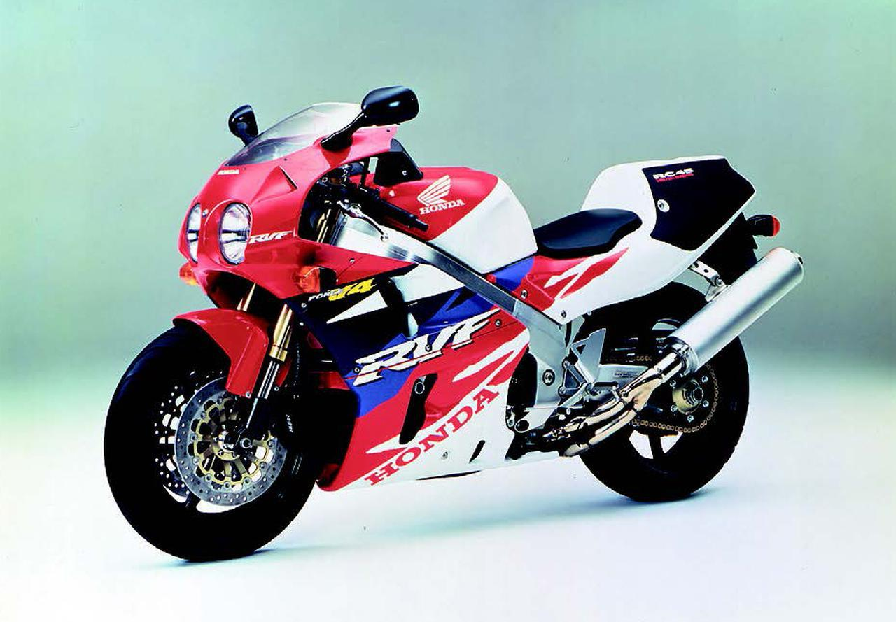 NSR250RやRVF/RC45などのV型エンジンを搭載したスポーツバイクがトレンドに!【日本バイク100年史 Vol.057】(1993-1994年)<Webアルバム>
