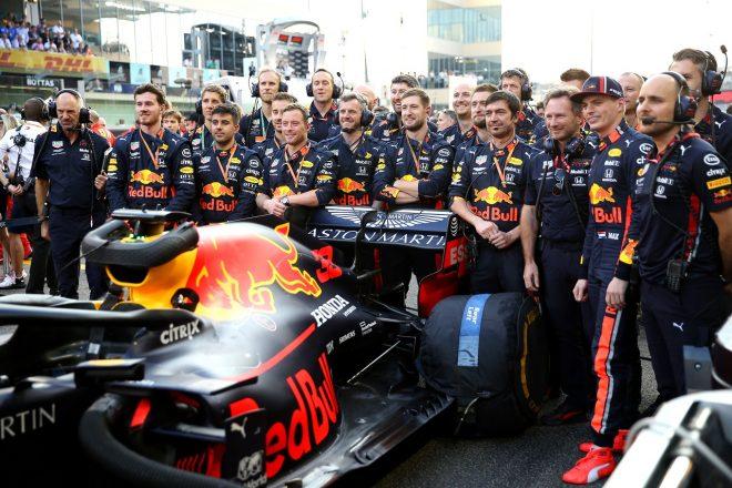 レッドブルF1が2019年9回目の表彰台「ホンダとの初シーズンに挙げた成果を誇りに思う」と代表