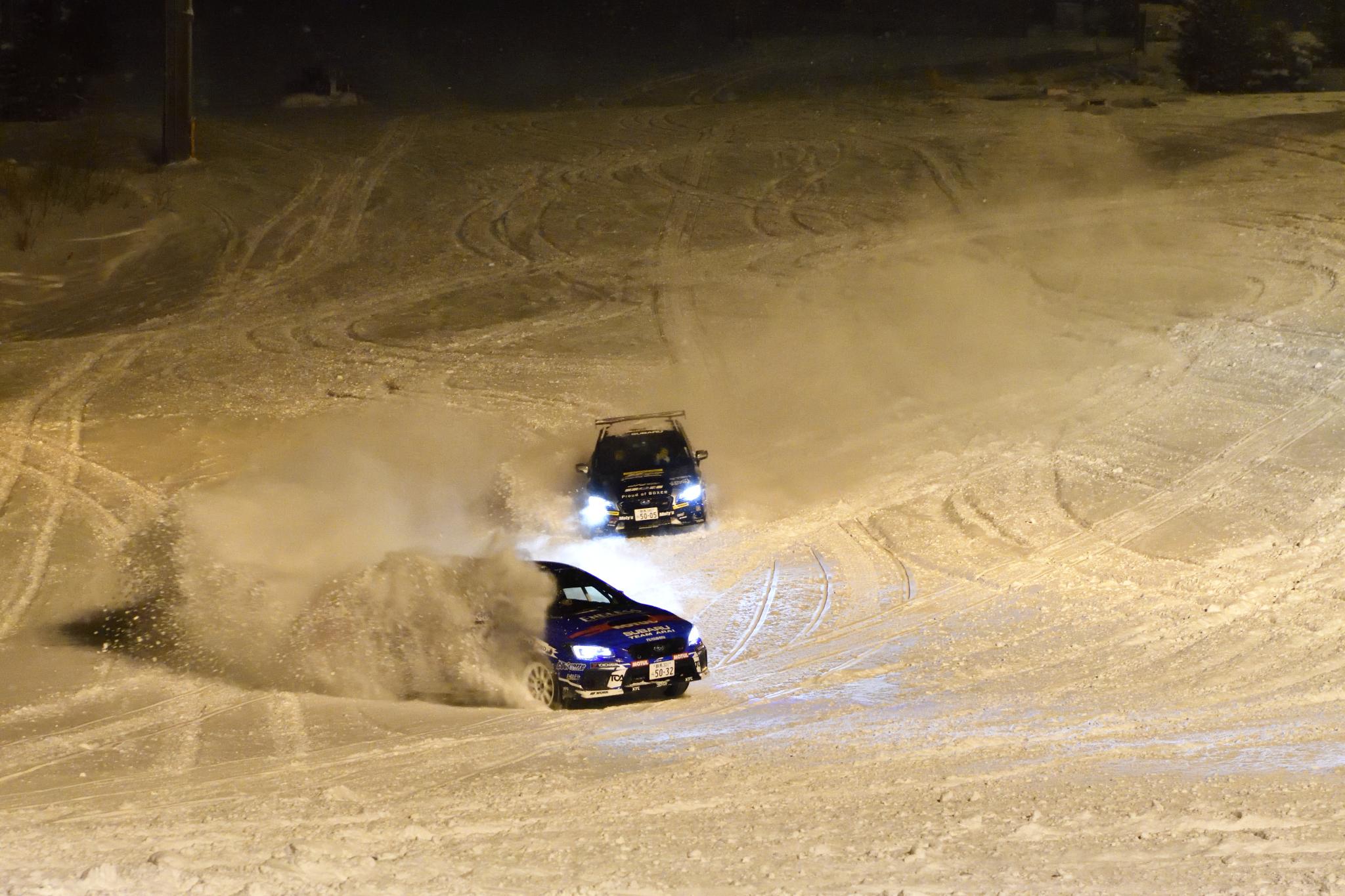 ゲレンデを駆け上るスバルゲレンデタクシー。今シーズンは意外なコラボも!