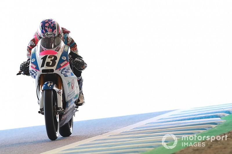 日本GP唯一の女性ライダー岡崎静夏「自分らしい落ち着いた走りをしたい」