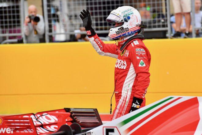 ベッテル「速さを取り戻せたのはうれしい驚き。どうせならポールを取りたかったね」:F1アメリカGP土曜