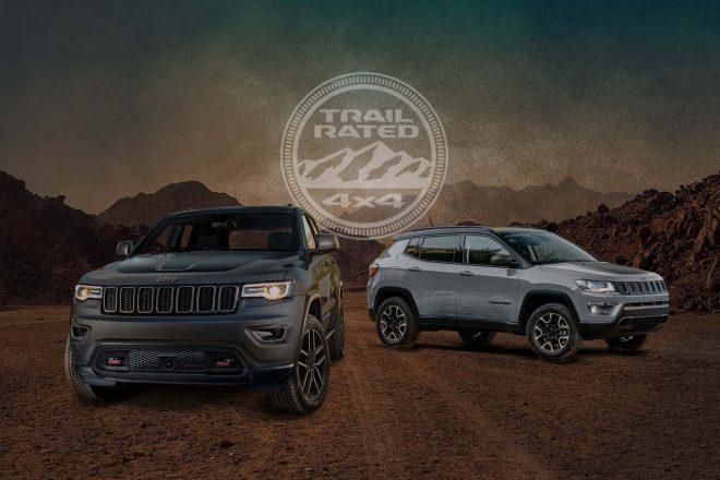 """Jeep、旗艦『グランドチェロキー』と『コンパス』に限定車""""Trailhawk""""を設定"""