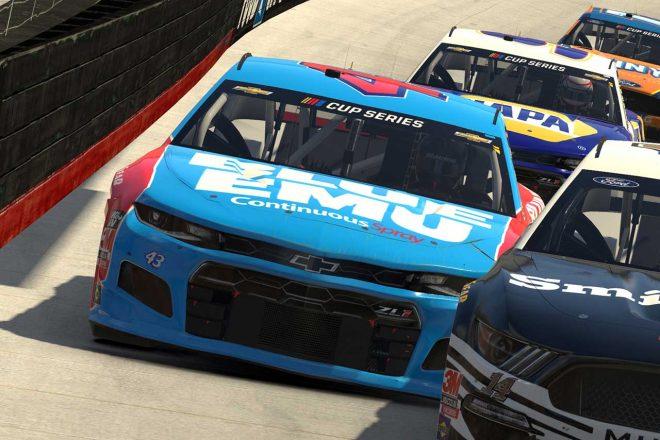 """NASCAR:eスポーツを""""キレ落ち""""で途中棄権したウォレスJr.が冠スポンサー失う"""