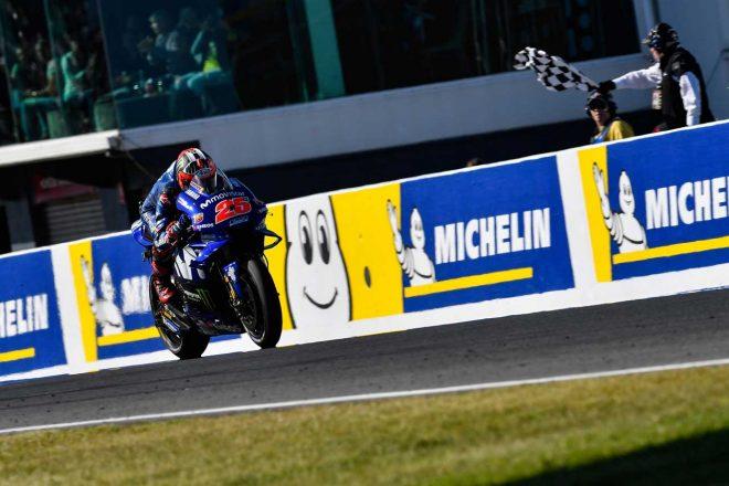 MotoGPオーストラリアGP決勝:ビニャーレス独走でヤマハが26レースぶりの優勝。イアンノーネは4度目の表彰台