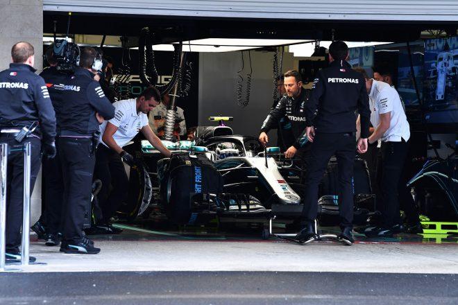 ボッタス「予選前にエンジン交換。フロントロウに届かなかったが、決勝スタートでそれが有利になるかもしれないよ」:F1メキシコGP土曜