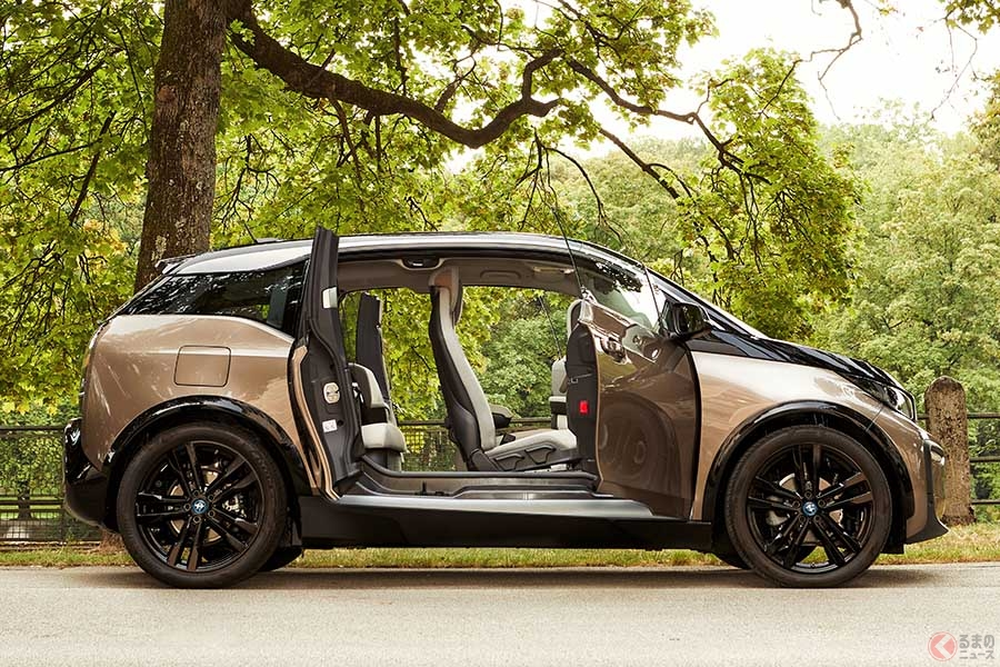 BMW「i3」新型バッテリー採用モデルが登場 最大航続距離466kmを実現