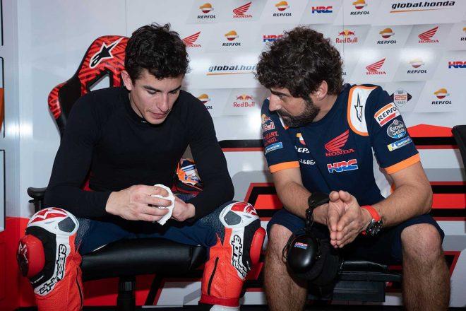 左肩手術明けのマルケス「まだフルパワーの状態ではなかった」/MotoGPセパンテスト初日コメント