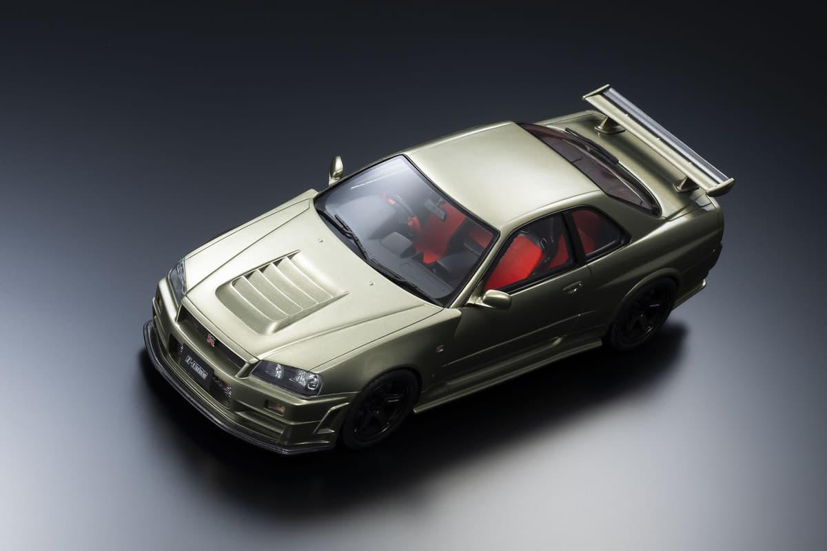 日本が誇るスポーツカー「NISMO GT-R Z-tune」と「レクサスRC F」のミニカーを限定販売