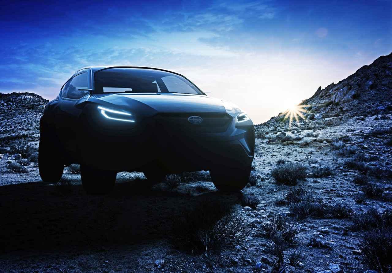 スバルがジュネーブショーにコンセプトカーの「VIZIV アドレナリン コンセプト」を出展