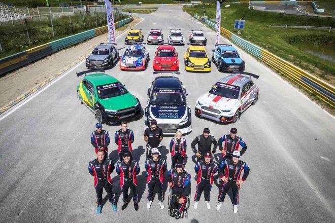 新設ラリークロスシリーズ『タイタンRX』開幕。元F1、WRC、WorldRXドライバーなどが激突