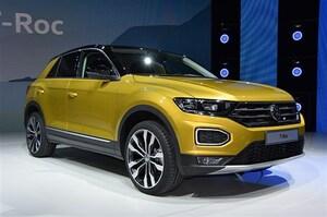 VWが4台目のSUV・T-Rocを発表。デザイン重視の世界戦略車は若者向け?