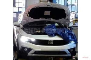 【打倒VWゴルフ】フィアット・ティーポ改良型、外観/内装がリーク マイルドHV 2020年後半発表