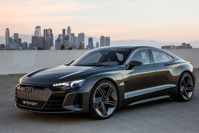 アウディの高性能EVコンセプト『e-tron GT concept』発表。2020年に量産モデル登場へ