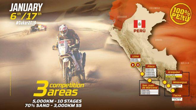 ペルー単独開催の2019年ダカールラリー、総走行距離は5541kmに減少。早期リタイアには救済措置も