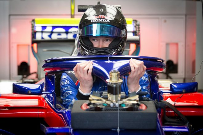 F1復帰のクビアト、トロロッソ・ホンダで初走行「最高の気分。すぐに快適に走れた」/F1テスト デイ2