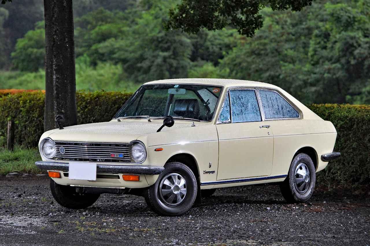 【旧車】初代サニークーペ「名機A型エンジンを搭載した小さな傑作車」