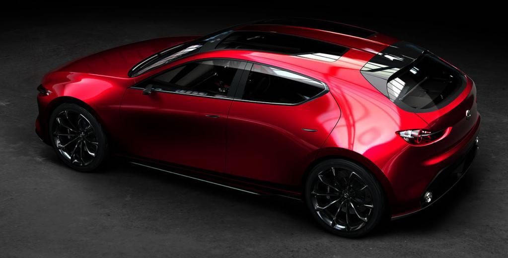 【速報Mazda3(アクセラ)/デザイン比較】マツダ 魁(KAI)CONCEPT はマツダ3となり、どうブラッシュアップされたのか