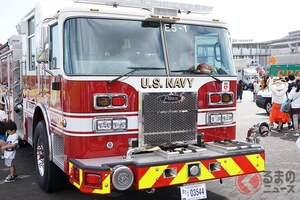 消防車もオラオラが必要? お国柄が出る日米の消防車で決定的な違いとは
