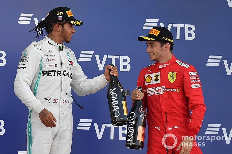 """「チャンピオンから学習できる」シャルル・ルクレール、ハミルトンの""""フェラーリ加入""""を歓迎"""