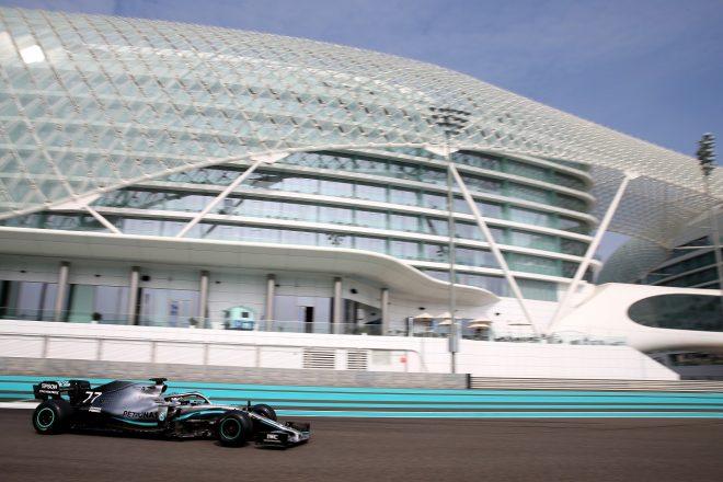 【F1アブダビテスト総合結果】2019年タイヤのボッタス/メルセデスが最速。ホンダF1勢トップはガスリー