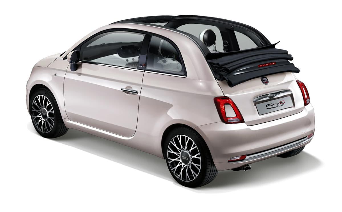 「フィアット500 / 500C」小粋でポップなピンクグレーの特別仕様車が登場