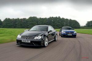 往年の名車 vs 現代の量販車(4) CLK63ブラックシリーズ vs C63 Sクーペ