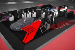 横浜ゴム  ジュネーブショーで先進技術やチェルシー・エディション・タイヤをアピール