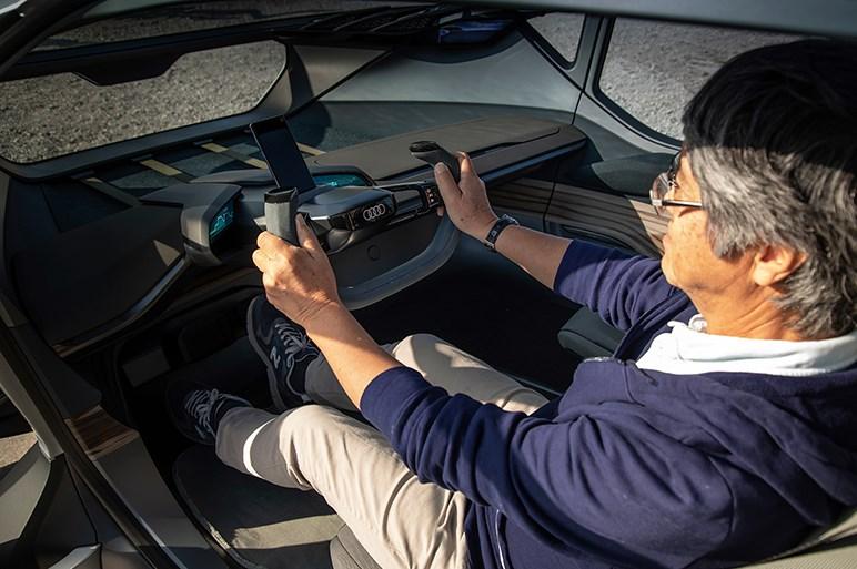 アウディのコンセプトカー、AI:トレイルクワトロの実車をチェックした