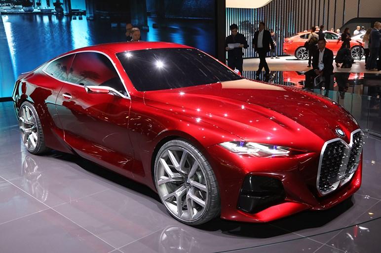 BMW次期4シリーズのコンセプトは縦長キドニーグリルのインパクトが凄い