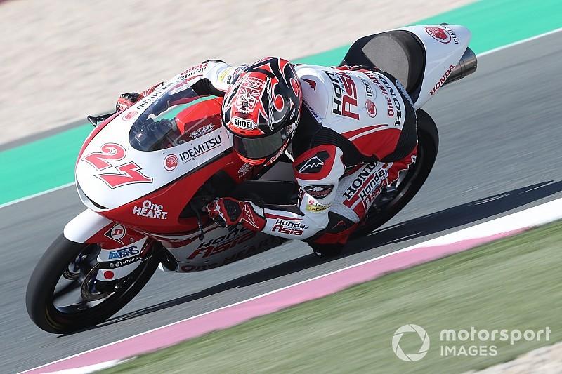 Moto3カタールGP予選レポート:アロン・カネットがPP、鳥羽海渡が3番手フロントロウを獲得!