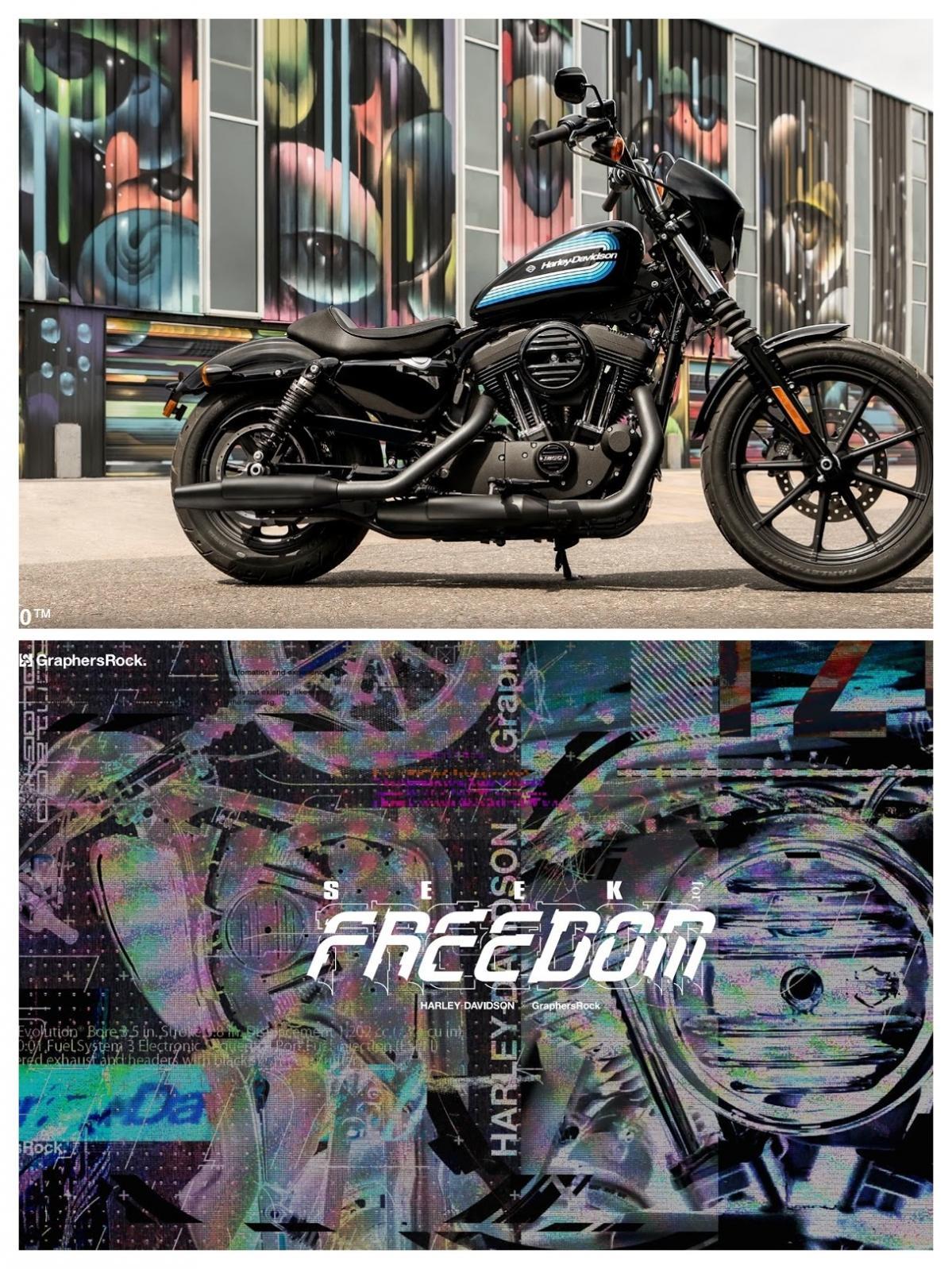 ハーレーとGraphersRockによる新プロジェクト「SEEK for FREEDOM」始動!