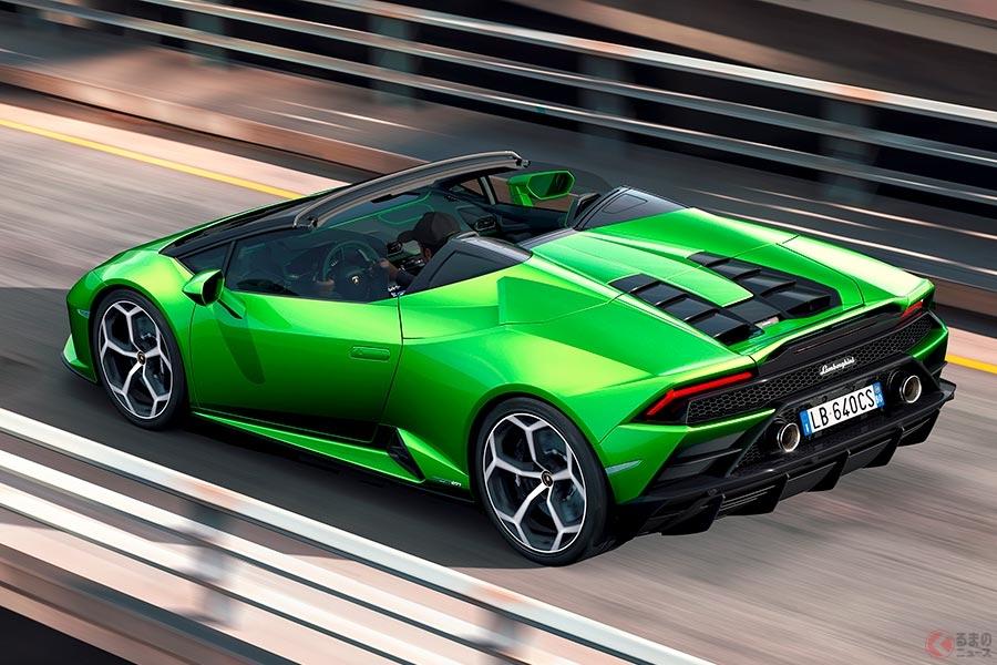 価格は3282万円!ランボルギーニ「ウラカン EVO」にオープンモデルが登場