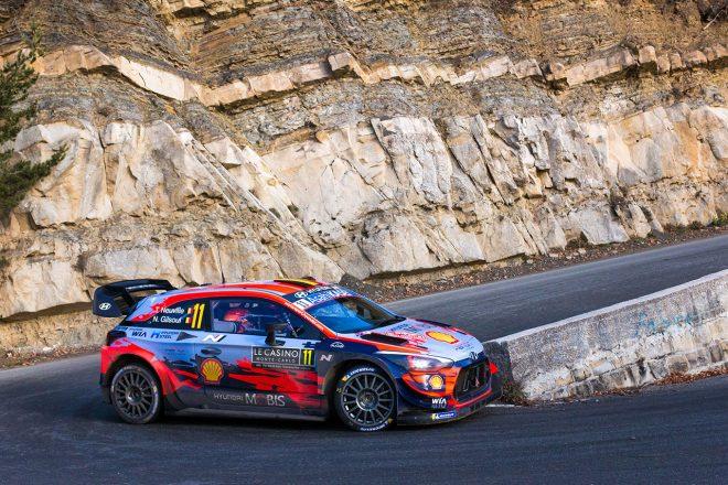 WRCモンテカルロ:ヒュンダイのヌービルが逆転で2020年初戦勝利。トヨタ2台が表彰台