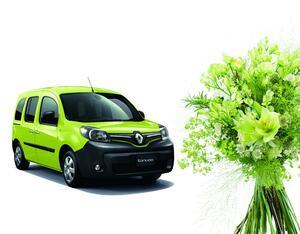 フランスの伝統あるブーケをイメージ! 爽やかなグリーンがオシャレなルノー・カングーの限定車「クルール」登場