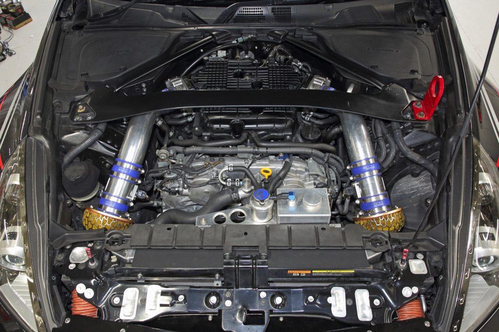 「3.9Lメカチューン仕様のZ34が凄すぎる!」大排気量NAらしさを伸ばした461馬力のサーキットスペック!