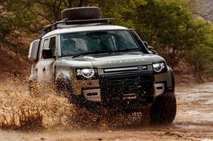 【アフリカの悪路を3日間】ランドローバー・ディフェンダー110 Sへ試乗 前編