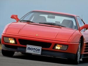 【スーパーカー年代記 033】新世代スモールフェラーリの348tb/tsは、まさに小さなテスタロッサ