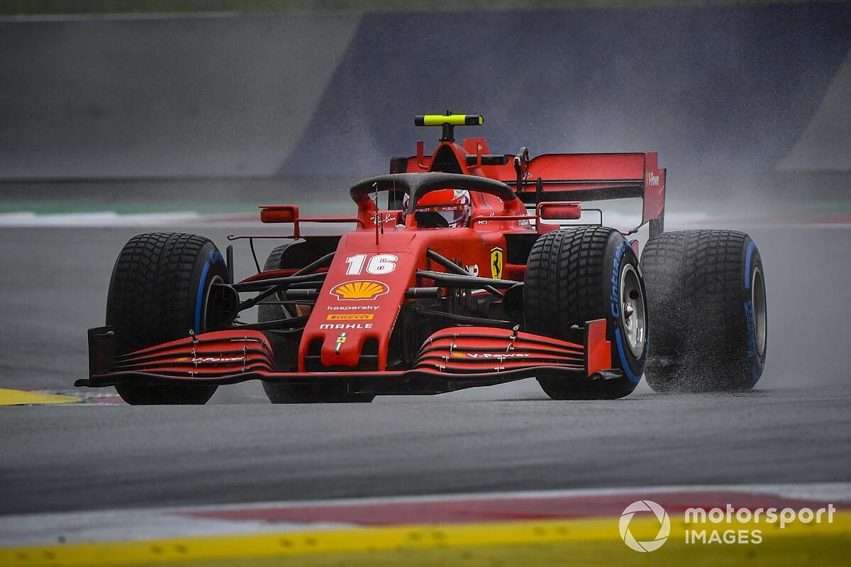 ルクレール、クビアトのアタック妨害で3グリッド降格ペナルティを受ける F1シュタイアーマルクGP