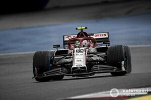 予選でクラッシュのジョビナッツィ、ギヤボックス交換でグリッド降格ペナルティ F1シュタイアーマルクGP