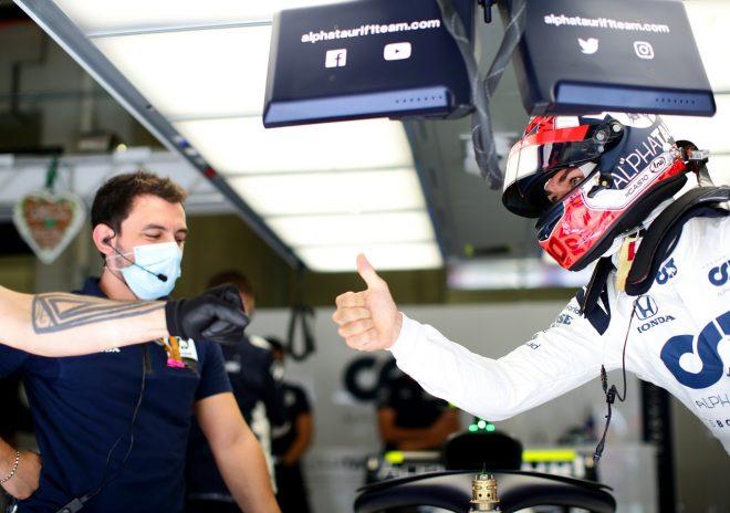 ガスリー8番手「スーパーハッピー!黄旗がなければ5番手だったかも」アルファタウリ・ホンダ【F1第2戦予選】