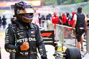 ハミルトンが後続を1.2秒突き放す圧巻のPP。フェルスタッペンは最終周にスピン【予選詳報/F1シュタイアーマルクGP】