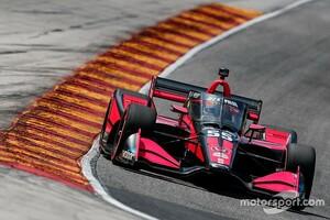 パロウ、インディカー参戦3戦目で初表彰台を獲得「さらに上を目指していきたい!」