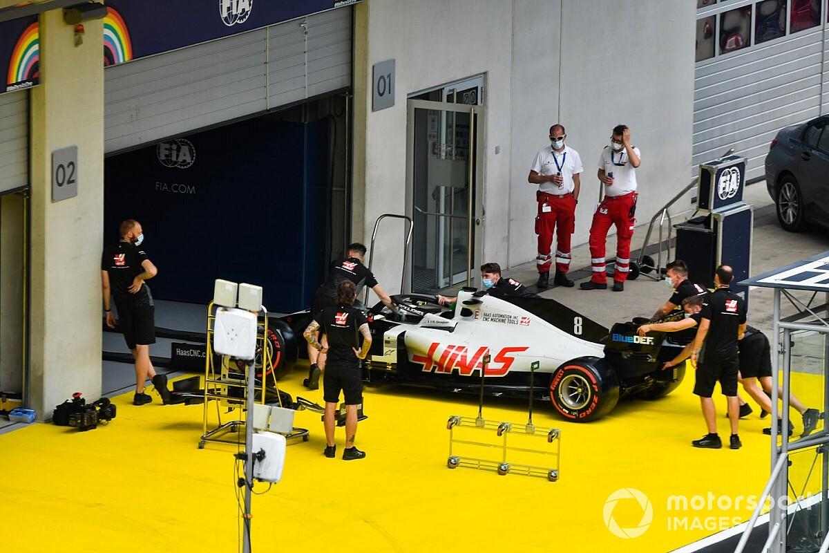 グロージャン、失格は免れる。パルクフェルメ規則違反でピットレーンスタート|F1シュタイアーマルクGP